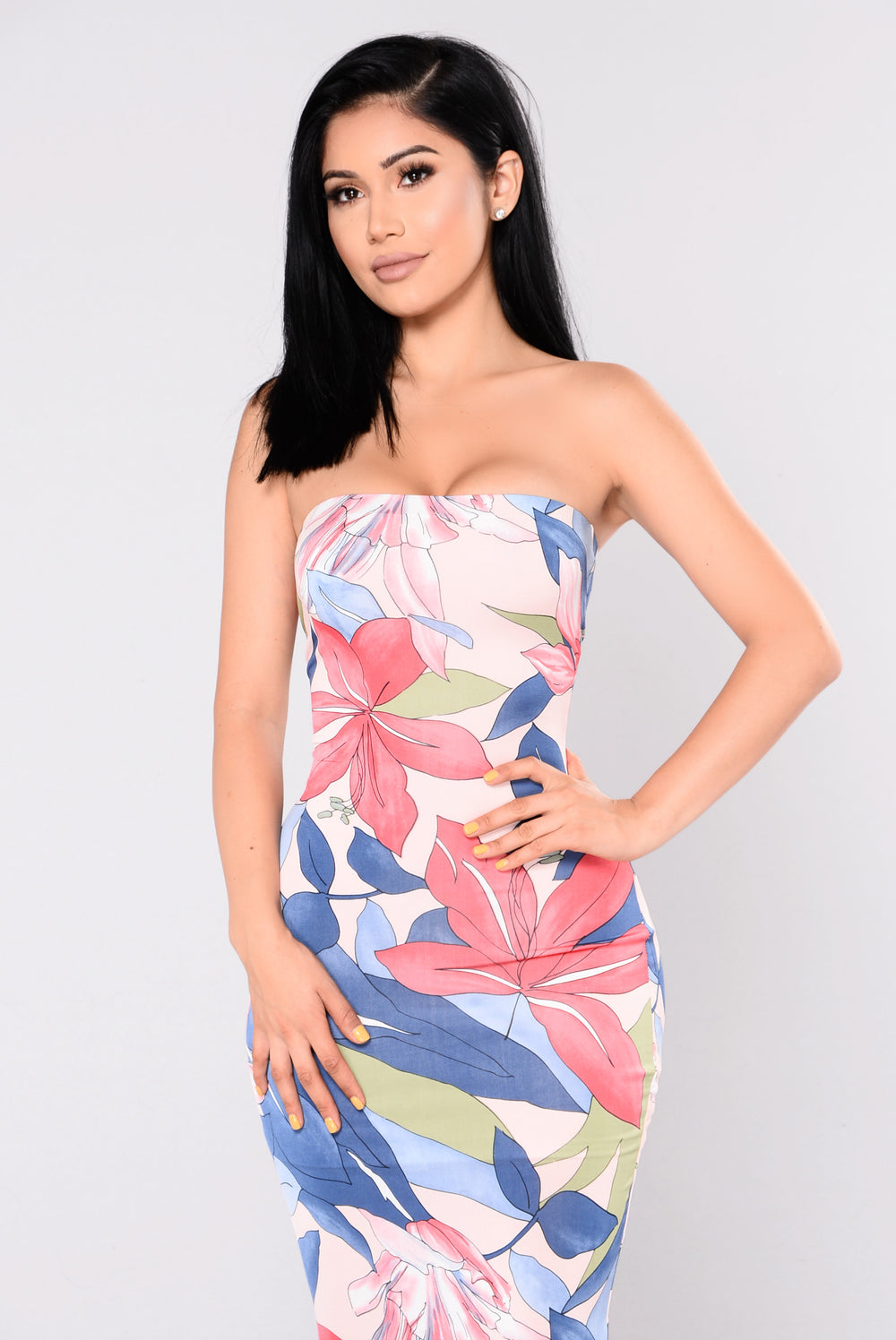 Sweet Lovin Dress - Blush Multi