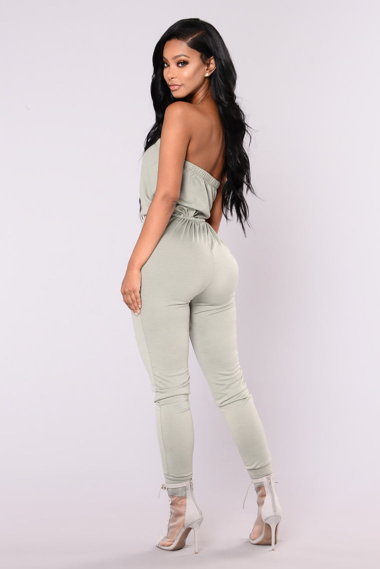 Kendra Jumpsuit - Dusty Sage
