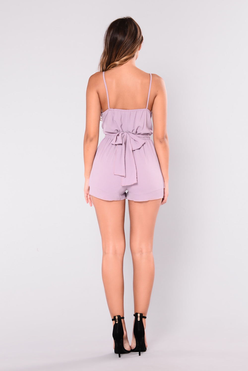 Player Hater Romper - Dusty Purple
