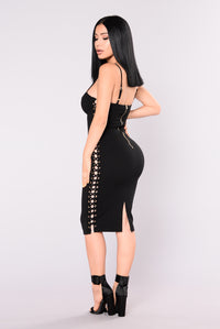 Rebel Rouser Dress - Black