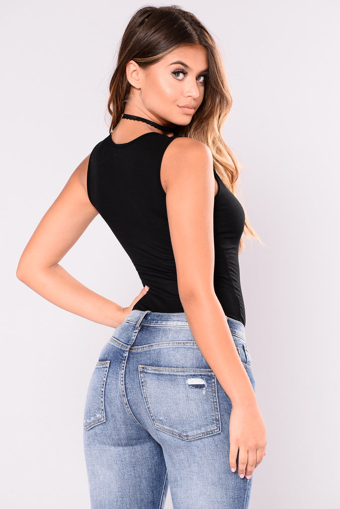 Cece Bodysuit - Black