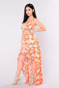 My Obsession Dress - Orange