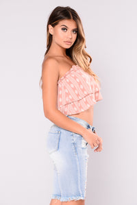 Darcy Tube Top - Mauve