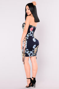 Pages Unsung Dress - Navy
