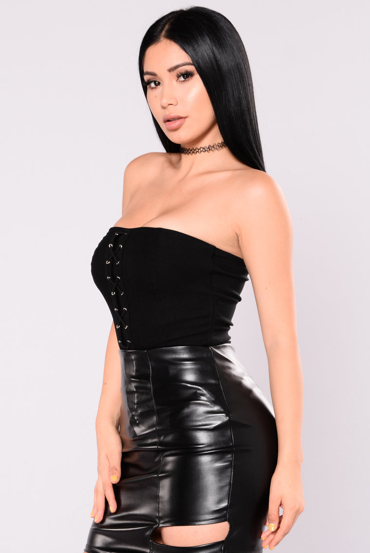 Verena Tube Top - Black