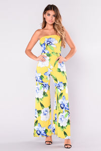 Antelope Field Jumpsuit - Yellow