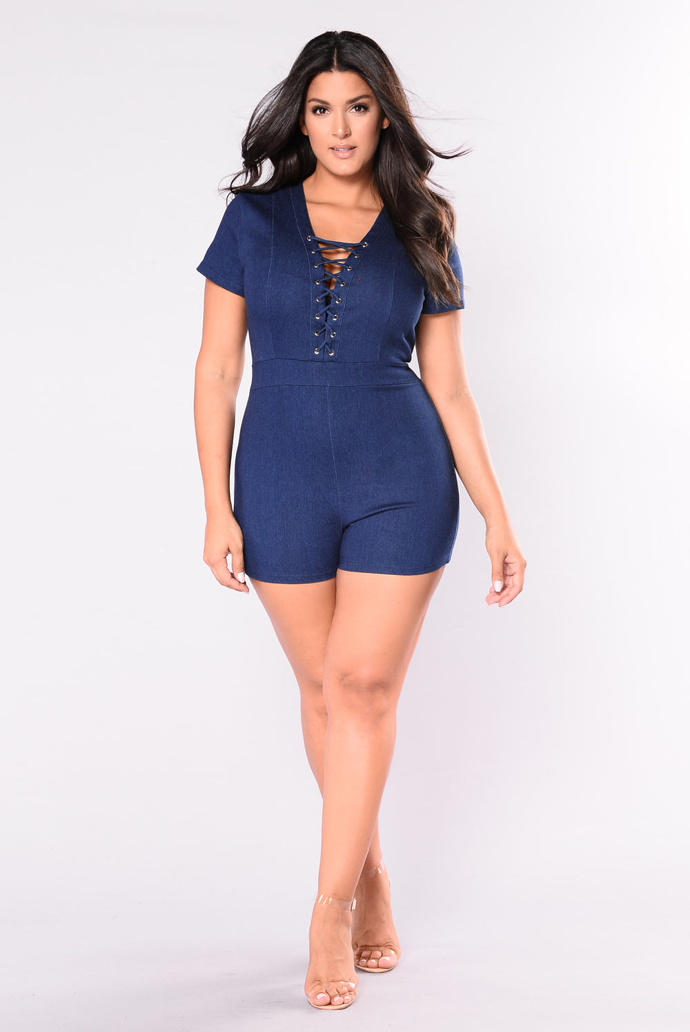 Bought My Heart Romper - Dark