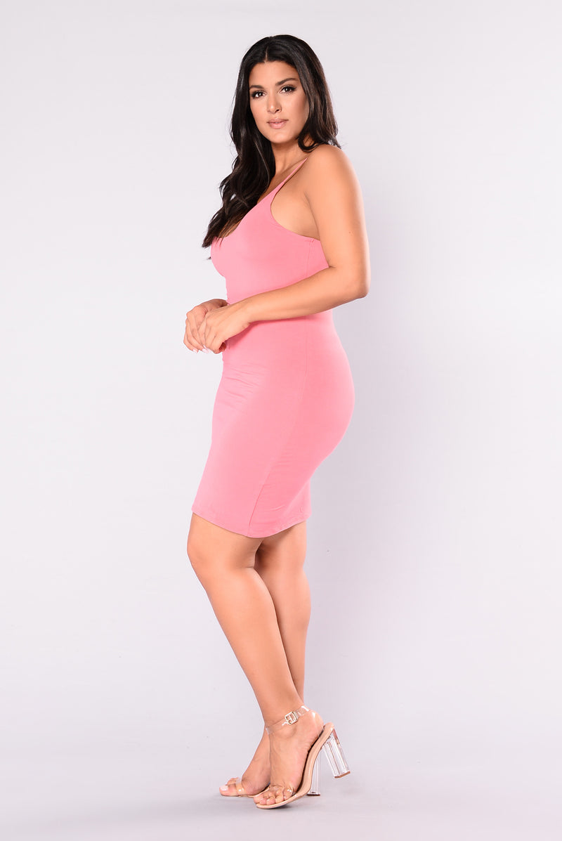 Kyley Mini Dress - Coral