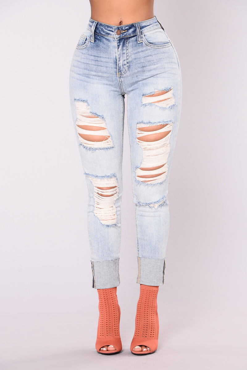 Kendall Jeans - Light Wash