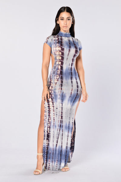 High Energy Dress - Indigo
