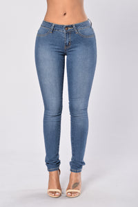Work Your Curves Jeans - Light Indigo