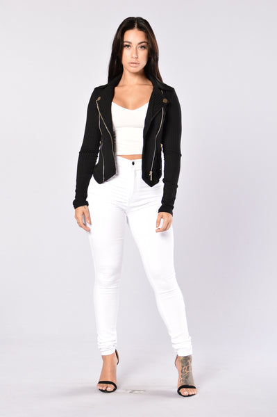 Ashton Jacket- Black