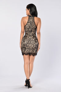 Tea Cake Dress - Black