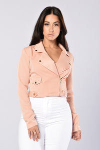 Army Of One Jacket - Dusty Rose