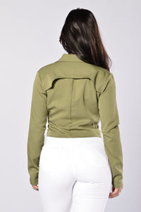 Army Of One Jacket - Olive