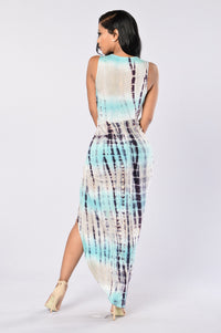 Mother Earth Dress - Water Angle 1