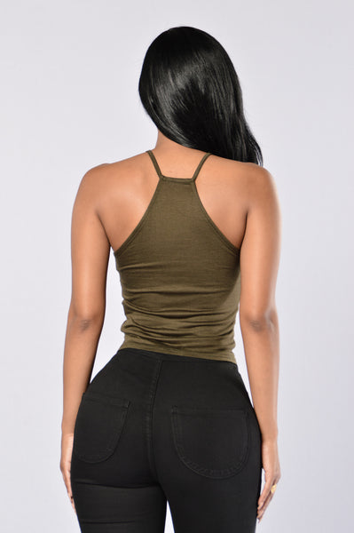 Tilly Top - Olive