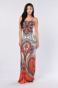Color Me Wild Dress - Red