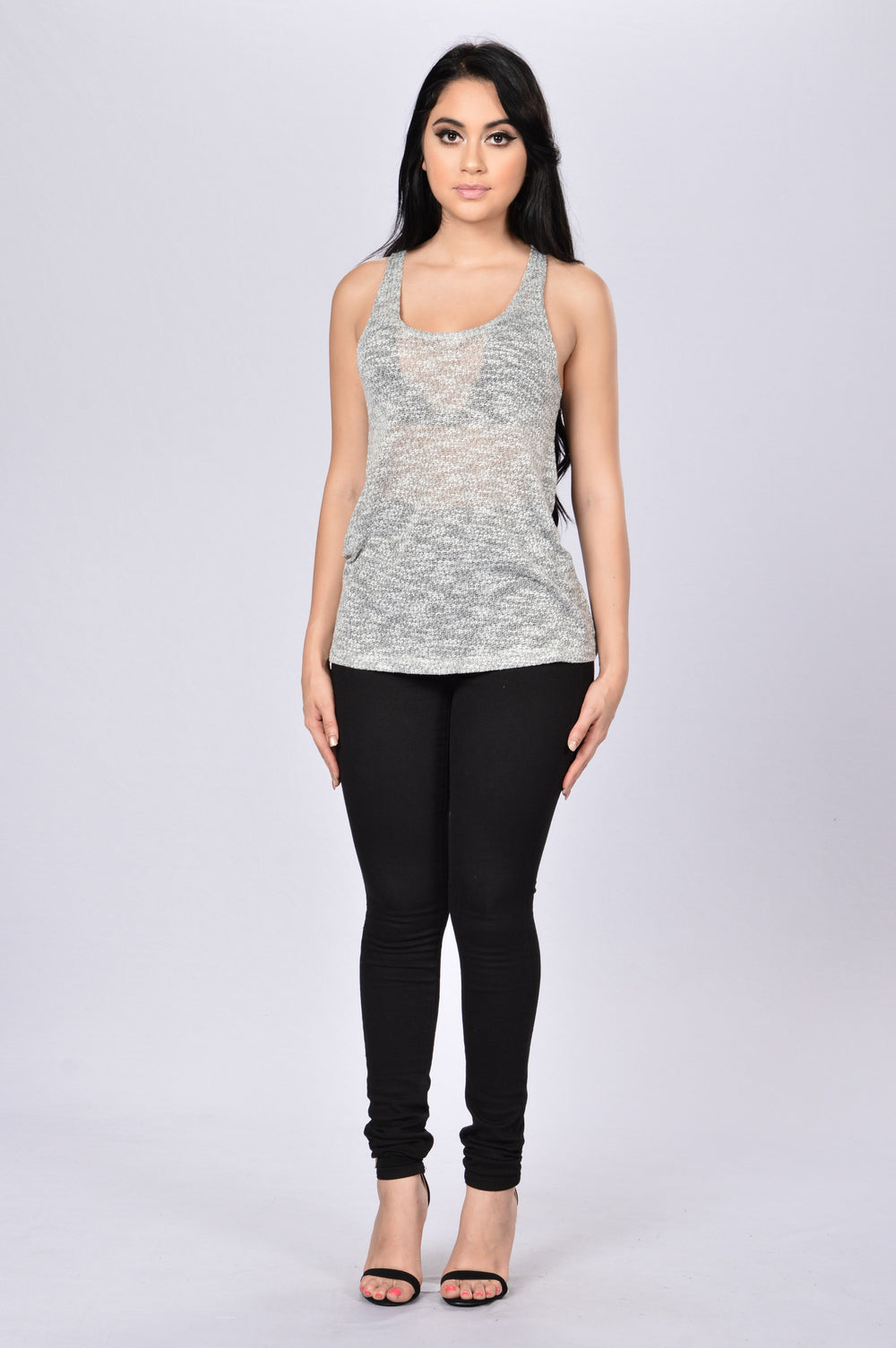 Cozy Summer Tank - Grey