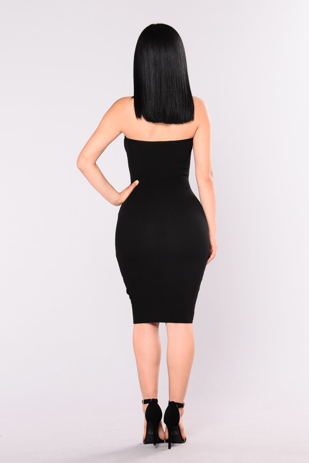 Tom Tube Dress - Black