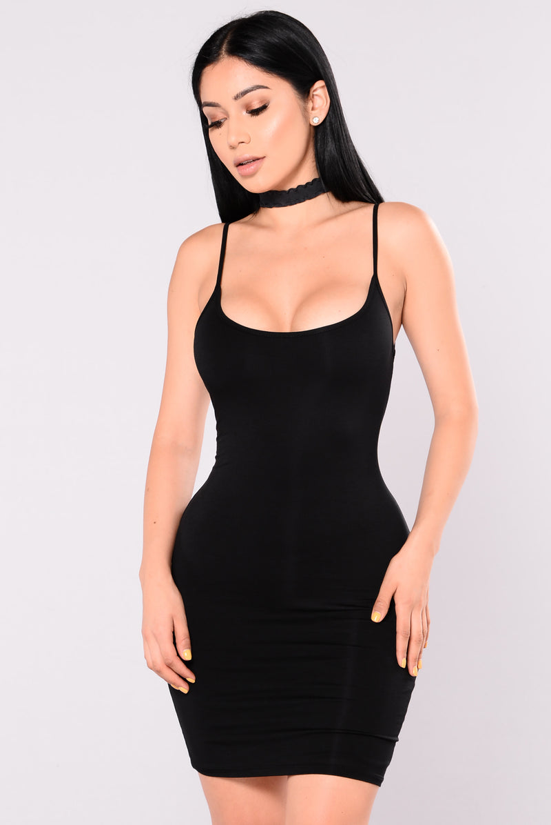 Nova Season Dress - Black