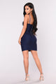 Stevie Dress - Dark Denim