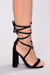 Watch You Do You Heel - Black