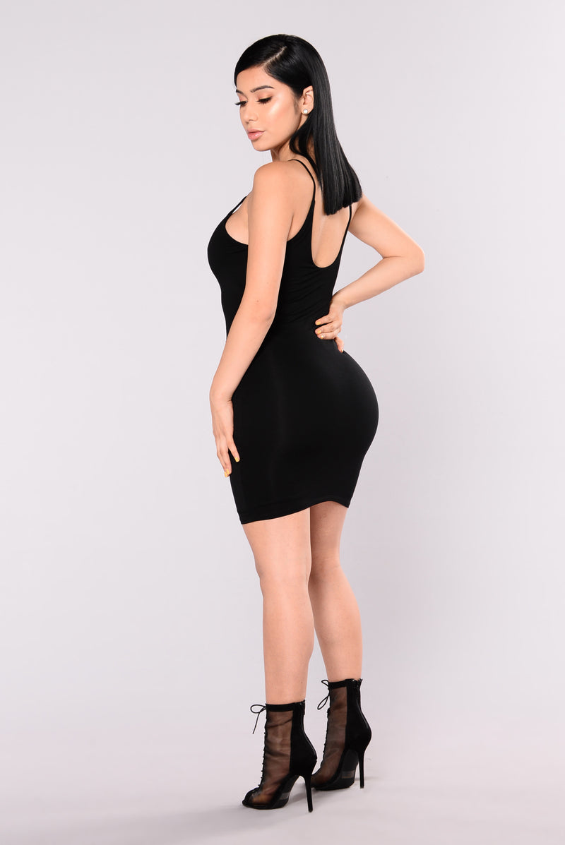 Kyley Mini Dress - Black