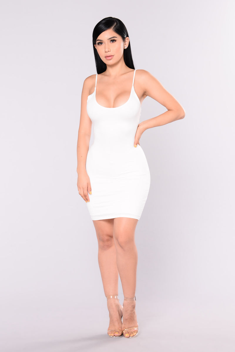 Kyley Mini Dress - Ivory