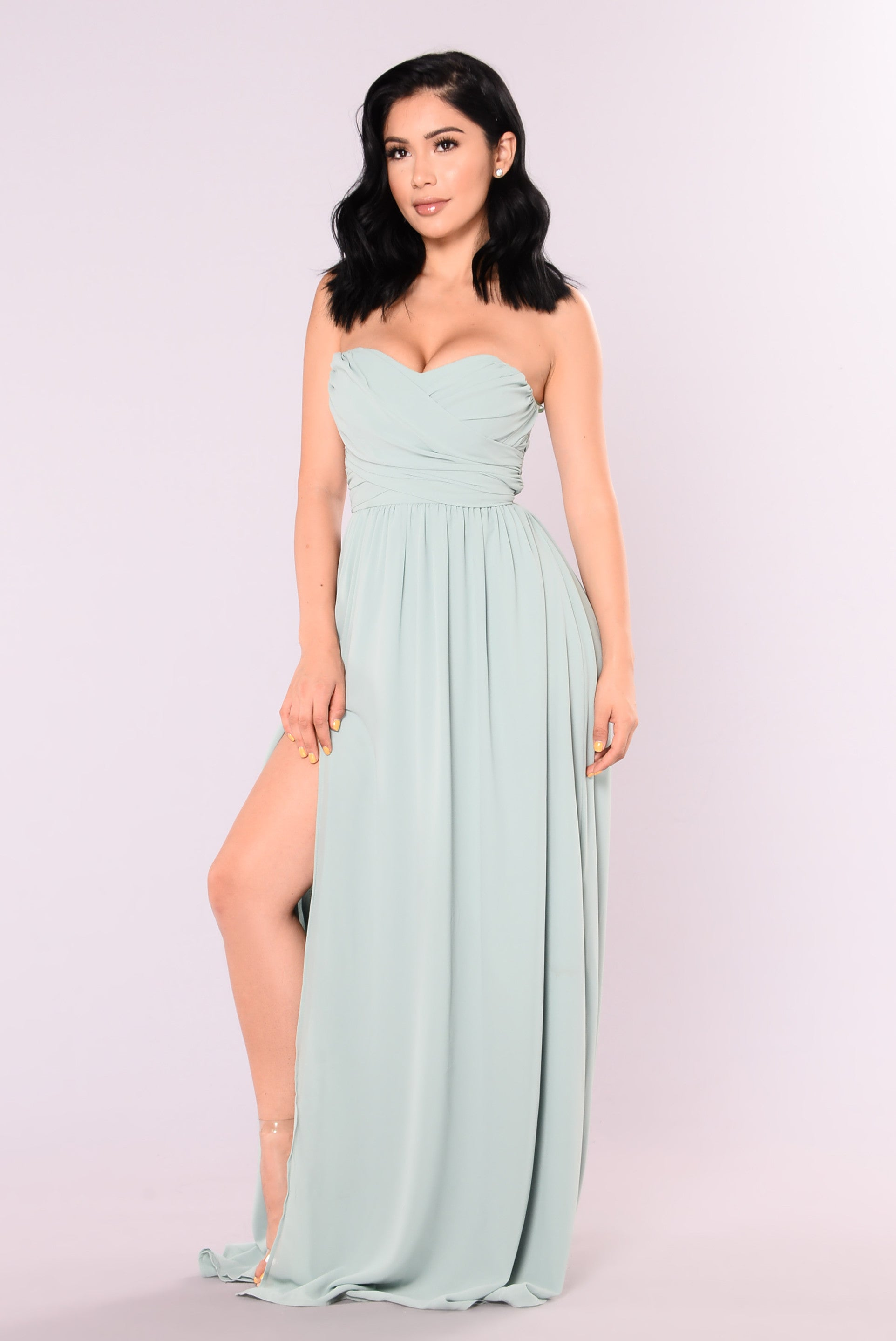 A Night In Florence Maxi Dress Sage