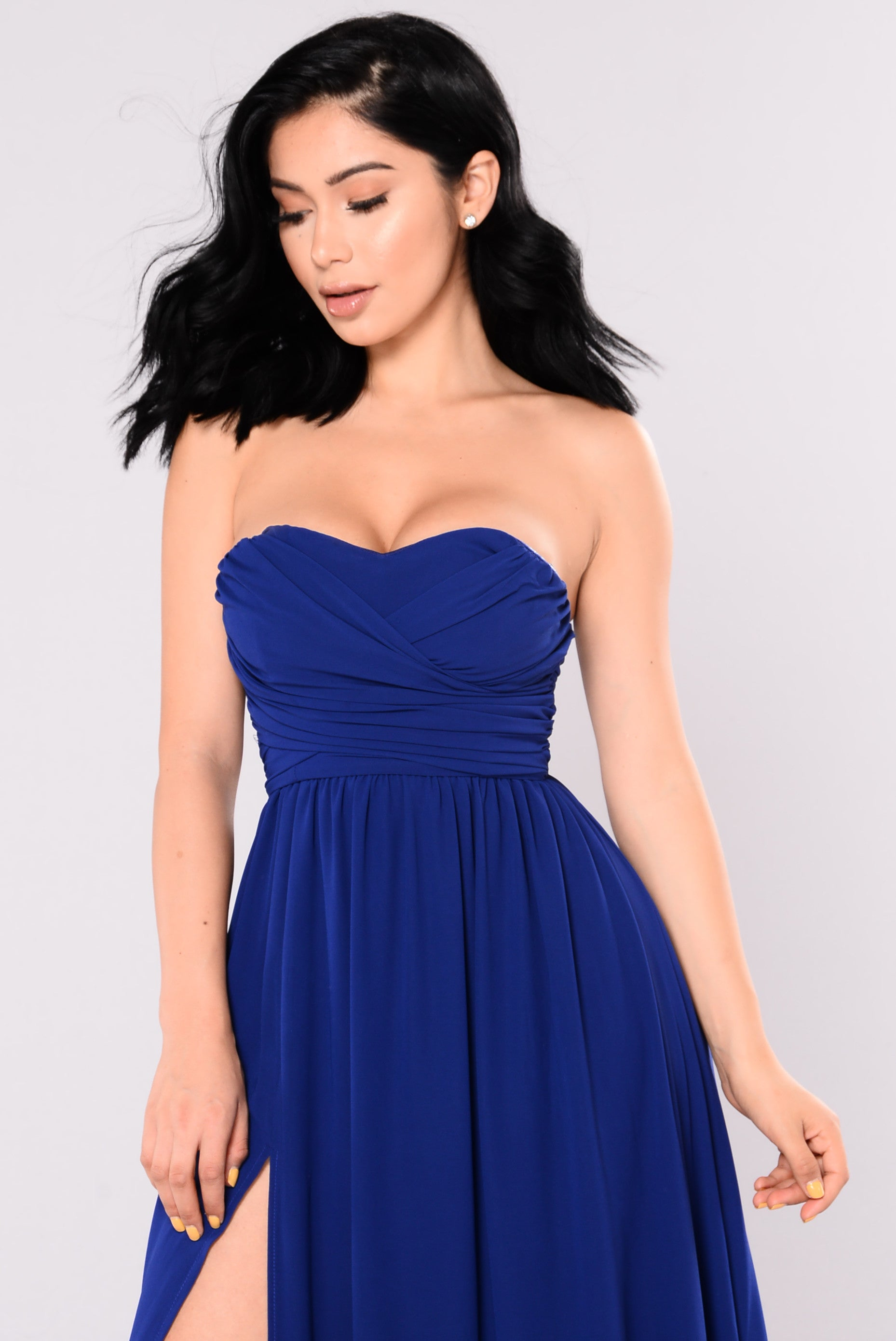 A Night In Florence Maxi Dress - Royal 28042e9d2