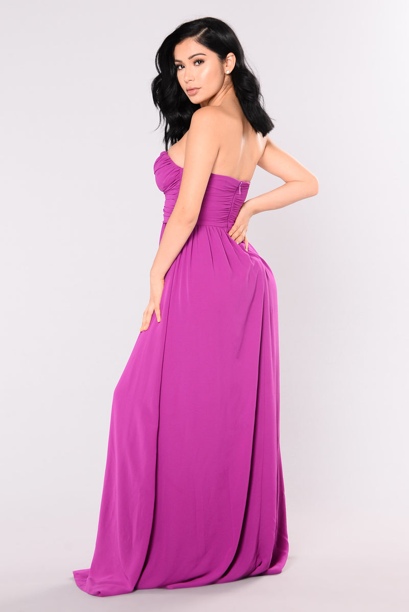 A Night In Florence Maxi Dress - Purple