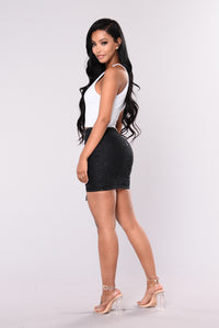 Trust Issues Skirt - Black