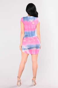 Lightning in a Bottle Dress - Pink