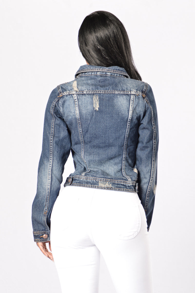 Roadie Denim Jacket - Vintage
