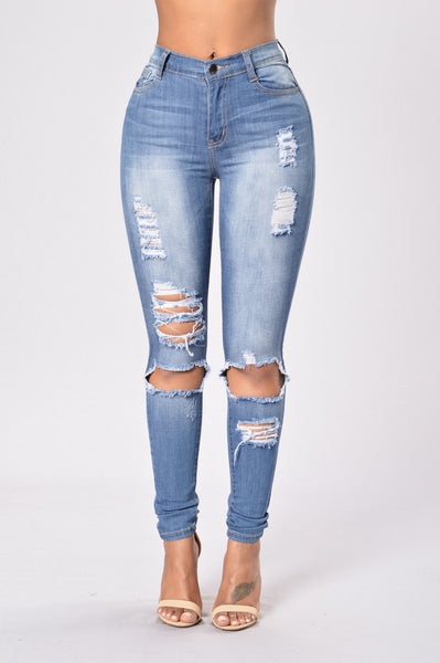 Whole Lot of Trouble Jegging - Dark