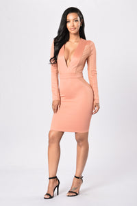Souled Out Dress - Terracota Angle 1