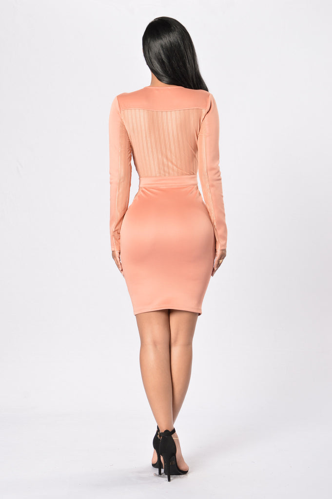 Souled Out Dress - Terracota