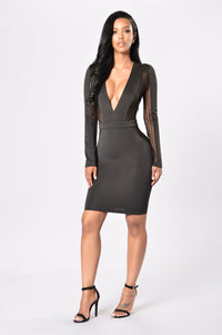 Souled Out Dress - Black