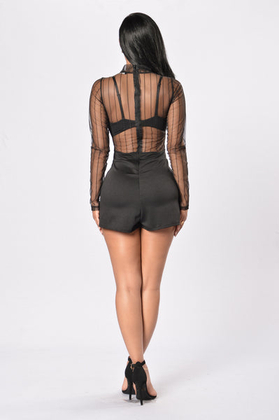 Magical Romper - Black