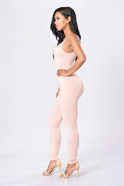 Nova Season Jumpsuit - Dusty Pink