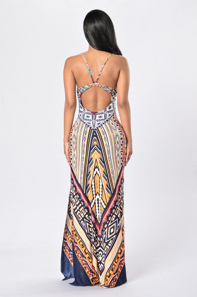 South of The Border Dress - White