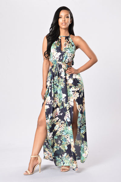 Spring's Best Dress - Navy