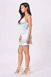 Kitten Dress - Grey Angle 6