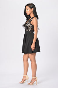 Apple Of My Eye Dress - Black