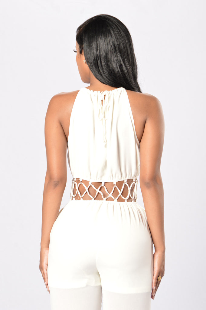 Modish Jumpsuit - Natural
