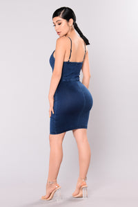 Nellie Denim Dress - Medium