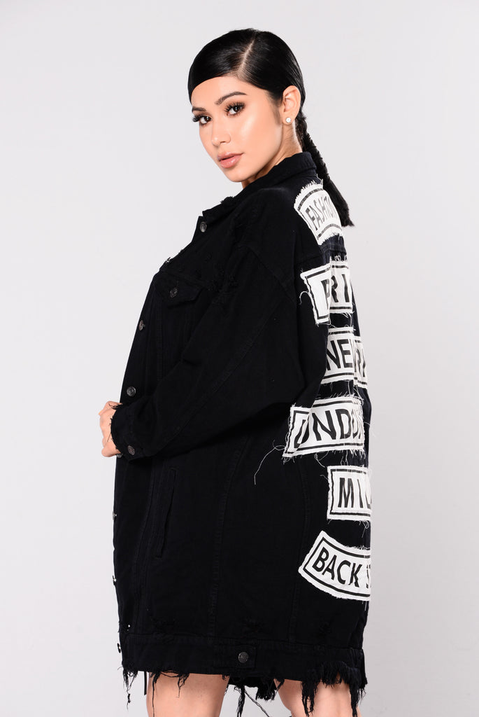 Fashion Tour Jacket - Black