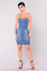 Ira Denim Dress - Light