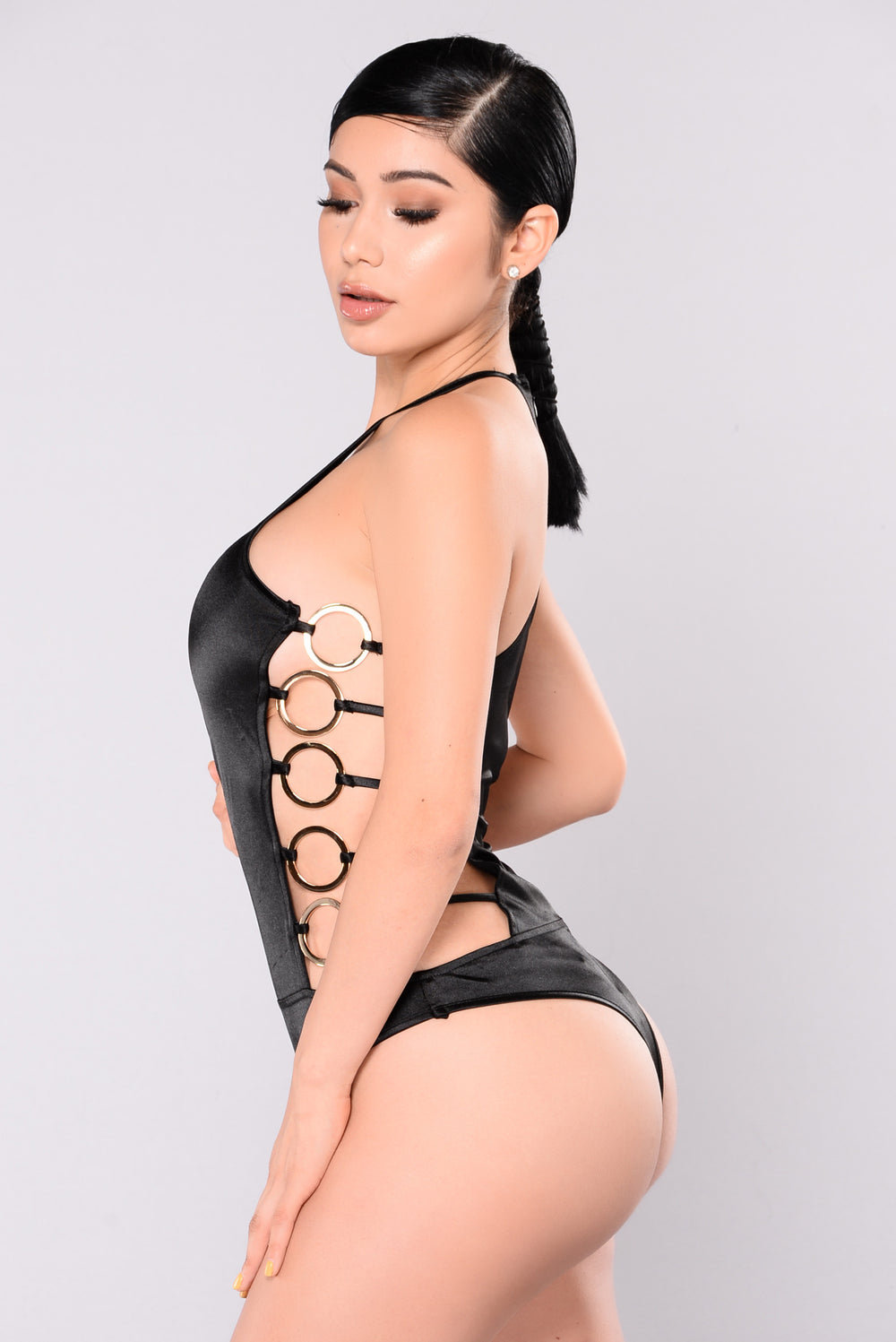 Ring Leader Monokini - Black